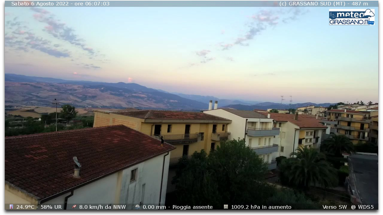 Webcam di Grassano (MT)